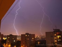 Lightning 4 in Kosice , Slovakia , 8.7.2012 by sparcosk
