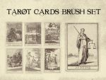 Tarot Cards Brush Set by bclock