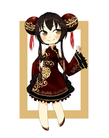 Adoptable: Fire Summoner [SOLD] by Cherry-tama