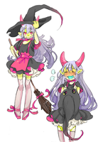 Design For Sale: Witch Oni (SOLD) by Costly