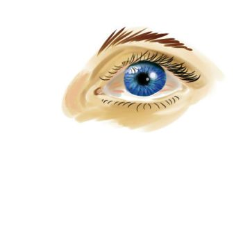 Realistic Eye by FatallFrame