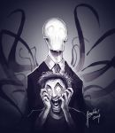 Slenderman by Magolobo