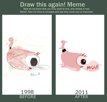 Meme before after Kitty by lyssagal