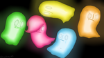 The Ghostly Cousins by ChicaChickenXD