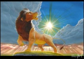 The Lion King by LordDoomhammer