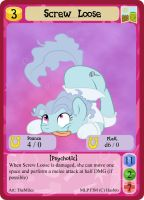 Screw Loose - mlpminis profile card by MLPMinis