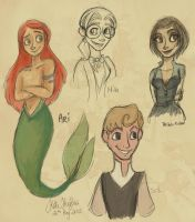Gender-flipped Disney III by Alias-Hugo