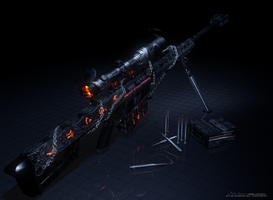 Dark Barrett M82XX by SeekerTower20