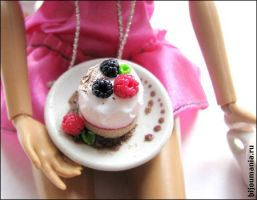 Tea with sweets - cake by allim-lip