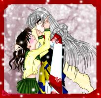 Sesshh and Kagome by XxBaByKaGoMexX