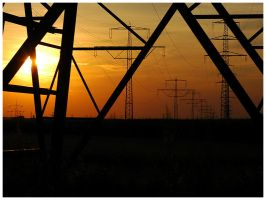 High-Voltage Line I by Fox82