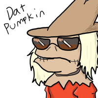 Dat Pumpkin by Flutter-Butter