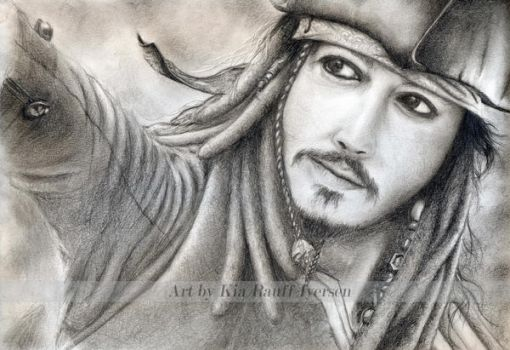 Captain Jack Sparrow by SnapyWapy