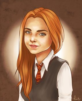 Rose Weasley by kimpertinent