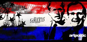 ArtPolitic - Colour of Greed by n0deal
