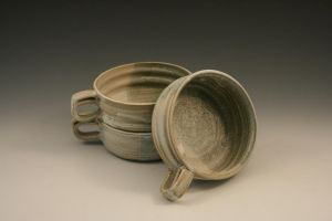 Soup Mugs-  Moss Green by Evalad