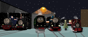 Snowy motive power by trainboy656