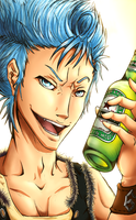 Bleach - Grimmjow by AlysSaphire