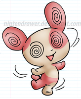 spinda by Nintendrawer