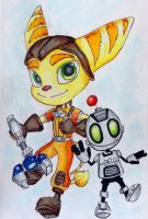 Ratchet and Clank by Spellcaster1298