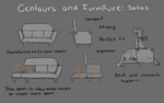 Centaurs and furniture by GreecemisisBiscuit