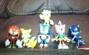 My Sonic Figurines! by SEGASister