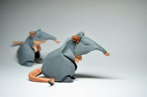 Origami Rats by HTQuyet