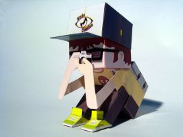 Paper Toy by Almir-Folly