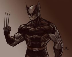 Brown Suit Wolverine by semaj007