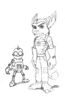 Ratchet and Clank by RocketLombax