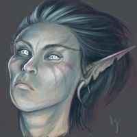 Druidess study by Hazelgee