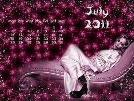 Calendar July 2011 by DanaAnderson