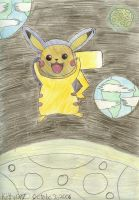 Pikachu for Savagebinn by Kitty1297