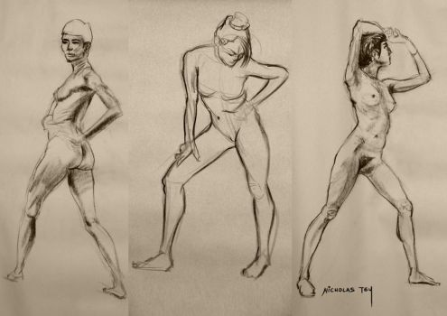 Life Drawing 5 by nictey