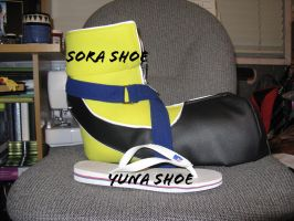 Sora Shoe WIP by Sora-Lamperouge