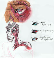 Injuries concept sketches by naravox