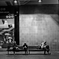 Light and people by Nendotan