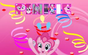 MLP Wallpaper-Pinkie Pie by DaChosta