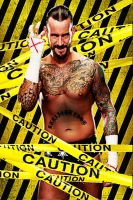 CM Punk Solo by Omega6190
