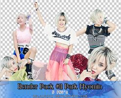 Render Pack #11 Park Hyomin Nice Body by Bellacrix