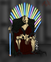 The Throne of Sabers by Demonic-Chaos