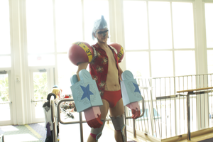 megacon cosplay Supa Franky 2 by kingofthedededes73