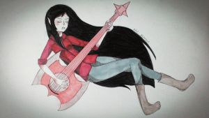Marceline from The Adventure Time by SD4869
