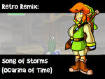 RR: Song of Storms -Ocarina of Time- by JamesmanTheRegenold