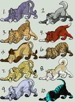 Feline/Canine Adoptables :CLOSED: by CF-Adopts
