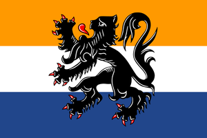 Flag of Dutch language by hosmich