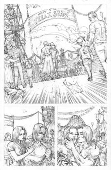 FUNHOUSE of HORRORS Page 13 Issue 4 by RudyVasquez