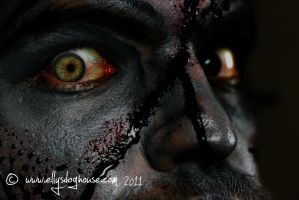Eye of a Zombie by ellysdoghouse