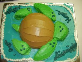 Turtle Cake by Kitkatinahat