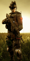 Spec Ops PLA Soldier by LordHayabusa357